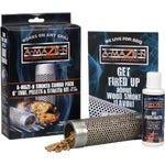 A-Maze-N Wood Pellet Grill Tube Smoker Combo Pack
