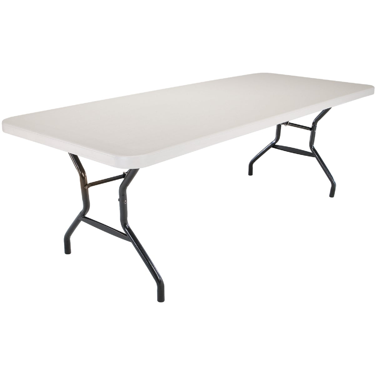 WHT 8' FOLDING TABLE