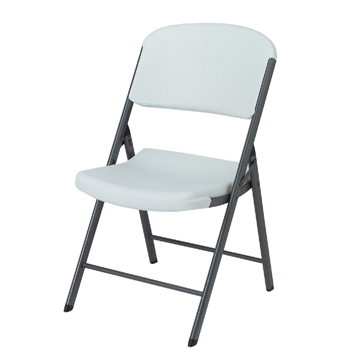 WHITE FOLDING CHAIR - 2802 by Lifetime Prod Inc