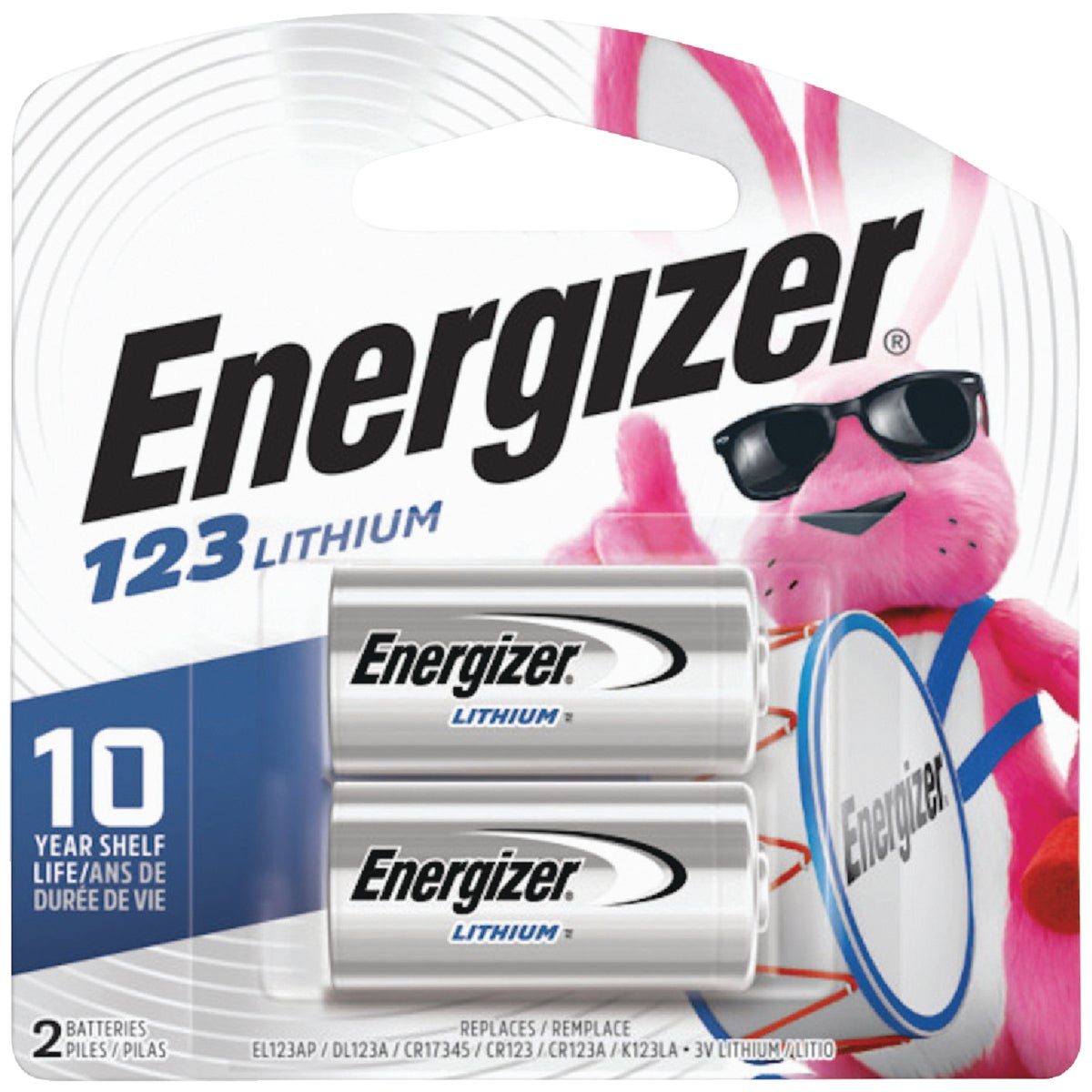 2PK 3V PHOTO BATTERY - EL123APB2 by Energizer