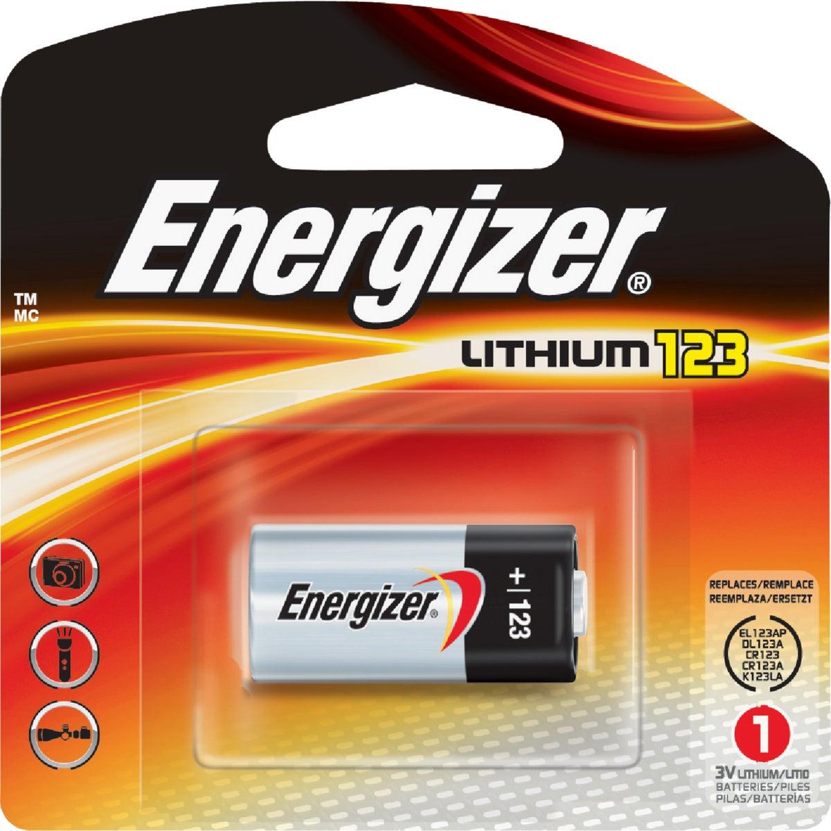3V PHOTO BATTERY - EL123APBP by Energizer