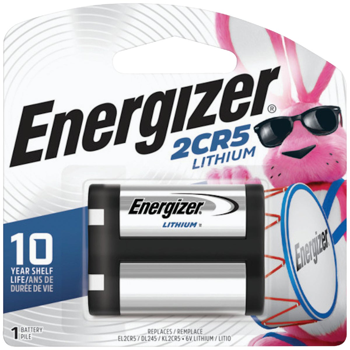 6V PHOTO BATTERY - EL2CR5BP by Energizer