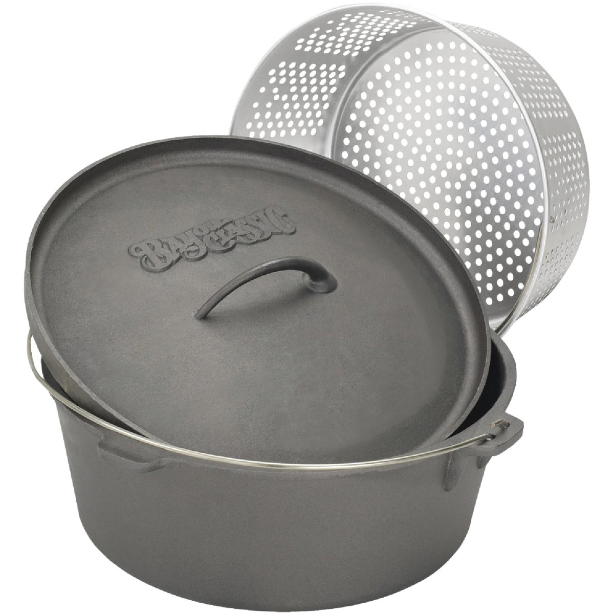 8.5QT CST IRN DUTCH OVEN - 7460 by Barbour Intl