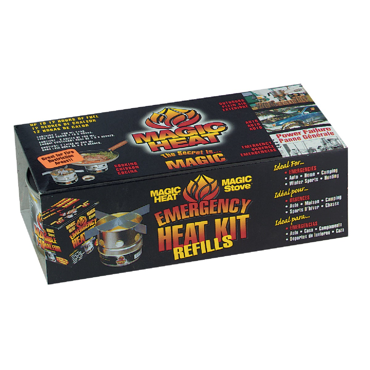 2PK MAGIC HEAT - MH001 by Scientific Utility