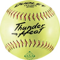 Spalding Sports LEATHER SOFTBALL 4A-131LP