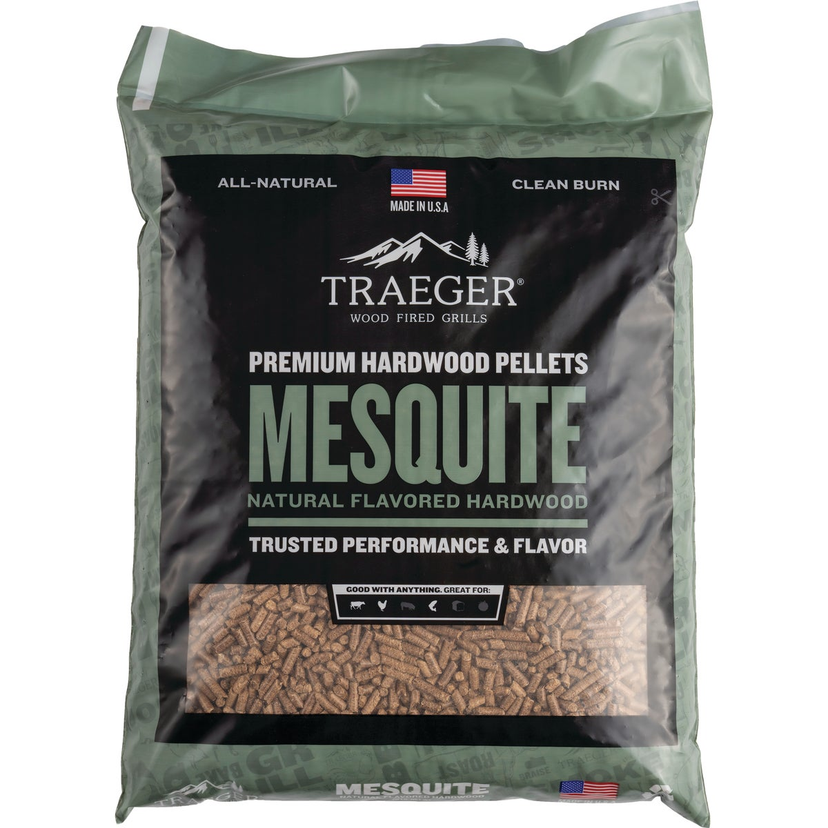 20LB MESQUITE PELLETS - PEL305 by Traeger Industries