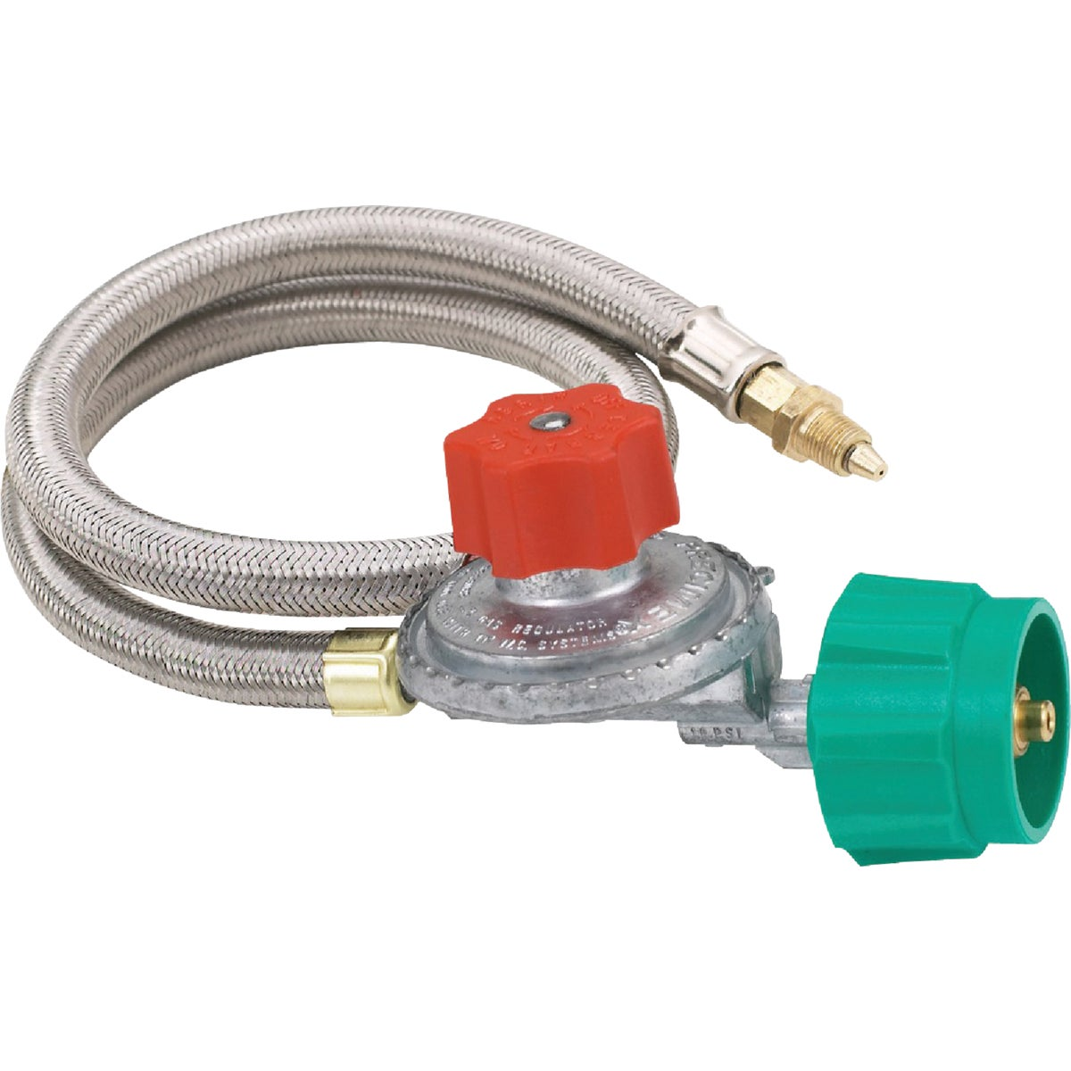 """36"""" 10PSI SS HOSE W/REG - M5HPR by Barbour Intl"""
