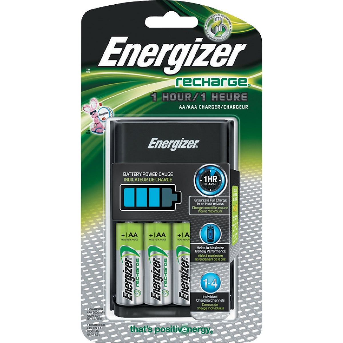 15 MINUTE CHARGER - CH15MNCP-4 by Energizer