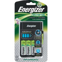 Energizer Recharge Battery Charger , CH1HRWB-4