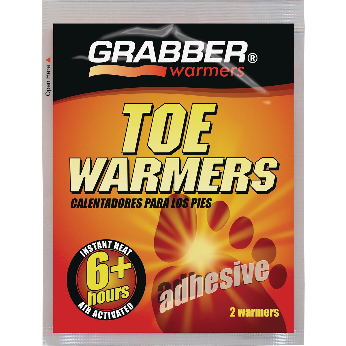 6+ HOUR TOE WARMER - TWES by Grabber Performance