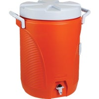 Rubbermaid 5GAL ORNG WATER COOLER 168501-11