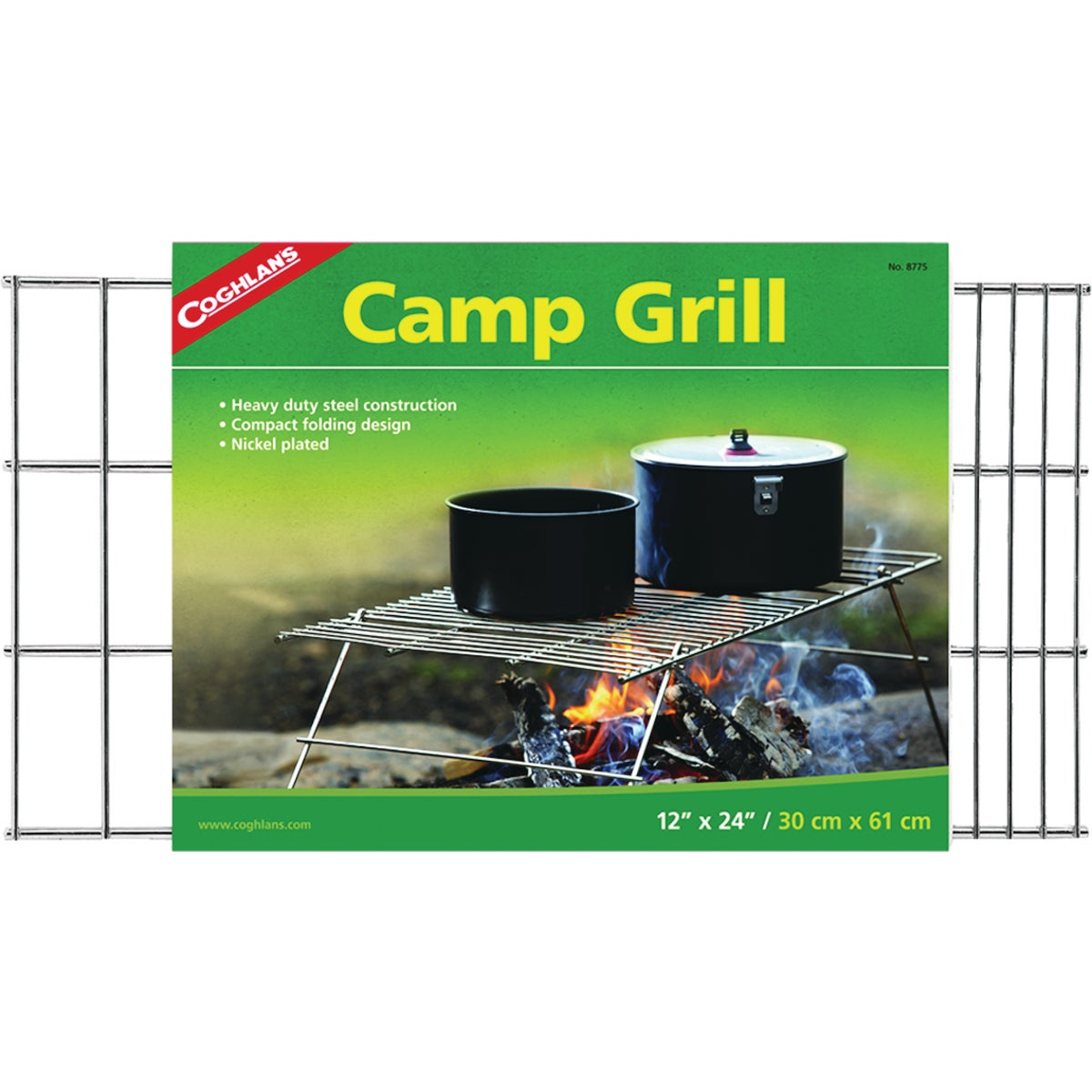 PIONEER CAMP GRILL - 128 by Rome Industries