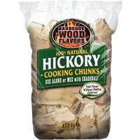 Barbeque Wood Flavors 10LB HICKORY WOOD CHUNKS 60013