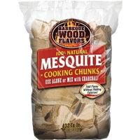 Barbeque Wood Flavors 10LB MESQ WOOD CHUNKS 60012