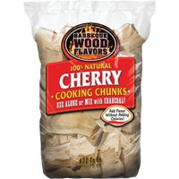 Barbeque Wood Flavors 10LB CHERRY WOOD CHUNKS 60027