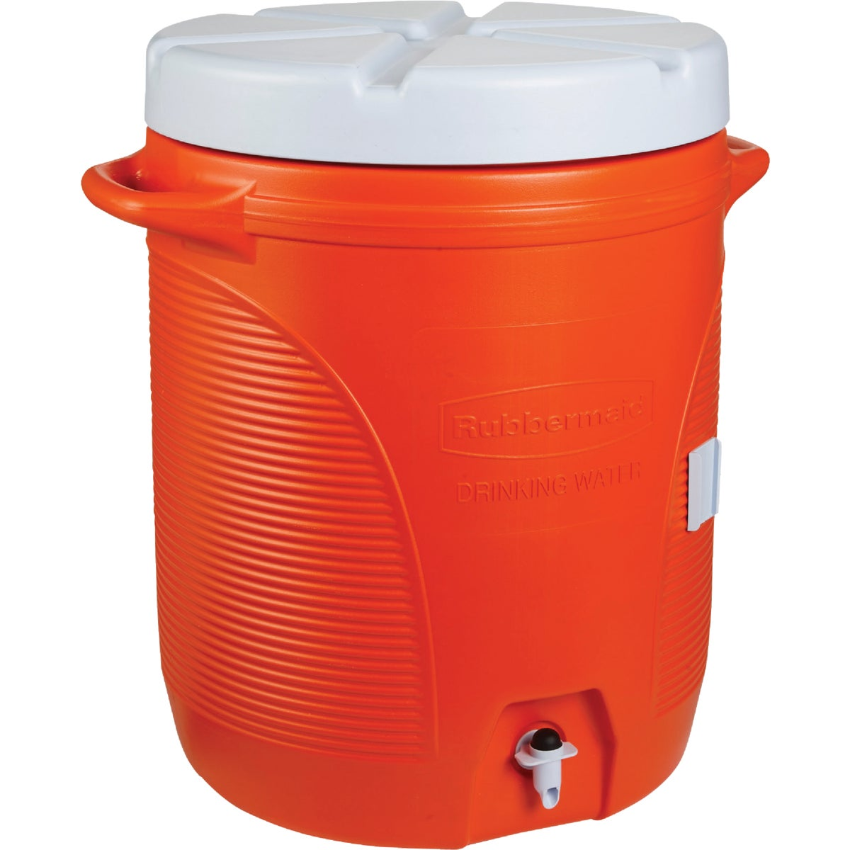 10GAL ORNG WATER COOLER - 161001-11 by Rubbermaid