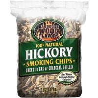 Barbeque Wood Flavors 2.25LB HICKRY WOOD CHIPS 60006