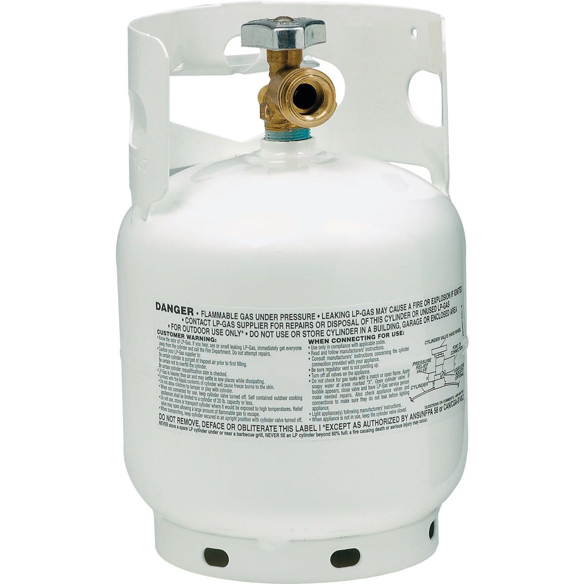 4.25LB PROPANE CYLINDER - 281149 by Worthington Cylinder