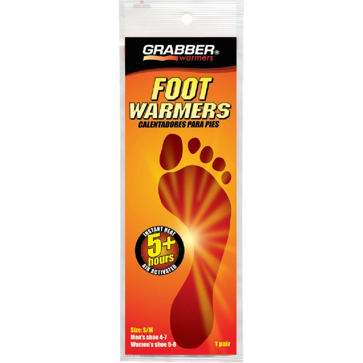 S/M FOOT INSOLES WARMER - CSFWSM12 by Grabber Performance