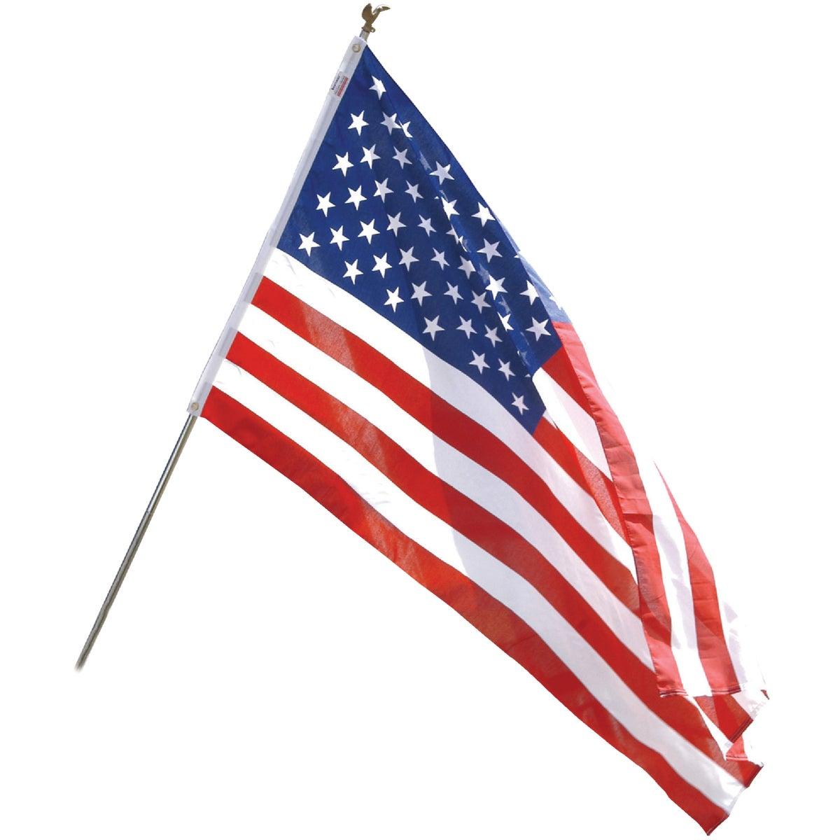 3X5 POLY COTTON FLAG KIT