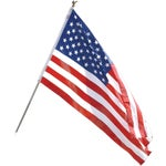 Polyester and Cotton U.S. Flag Kit