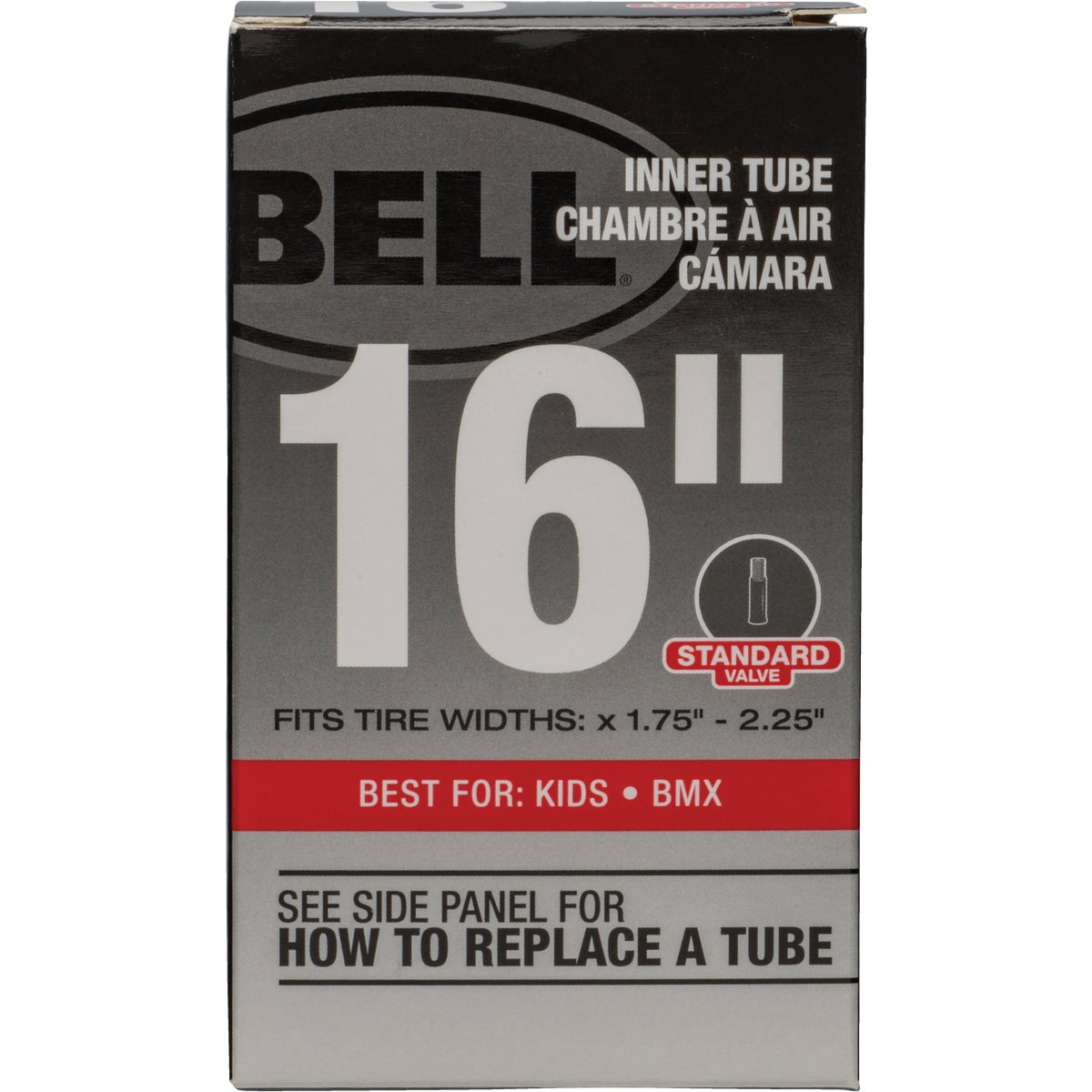 """16"""" UNIVERSAL INNER TUBE - 7015355 by Bell Sports"""