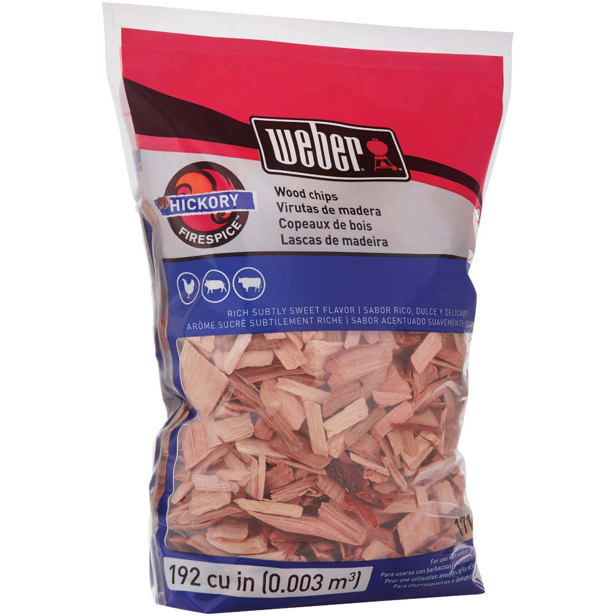 210CI HICKORY CHIPS - 17053 by Weber