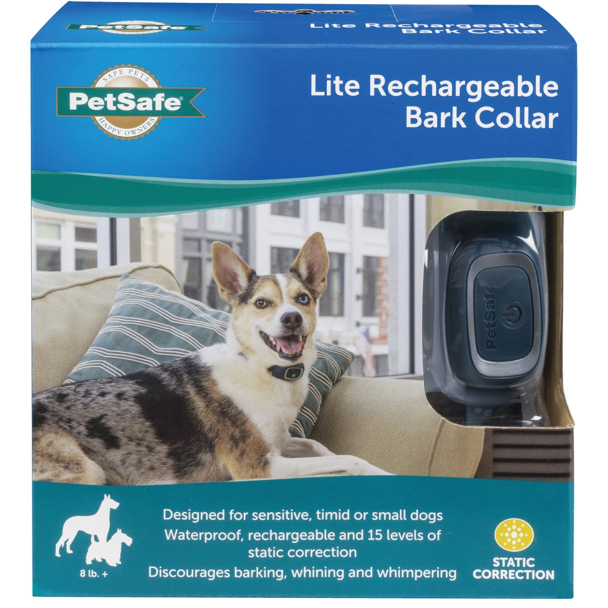 DLX SML DOG NOBRK COLLAR