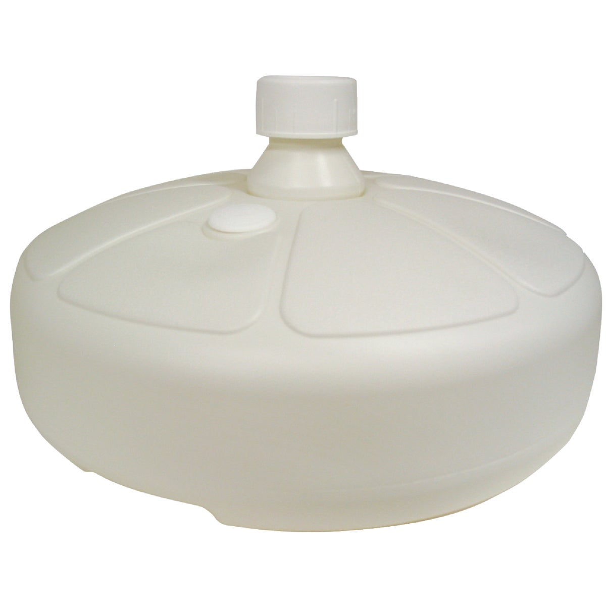 WHITE UMBRELLA BASE - 8129-48-3716 by Adams Mfg Patio Furn