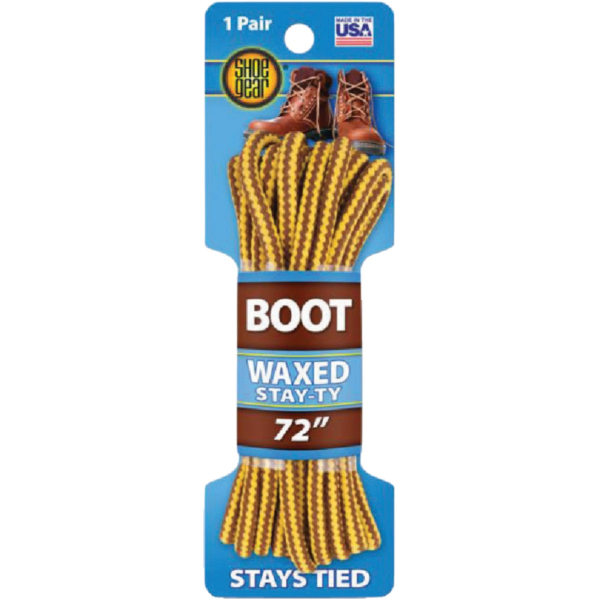 "72"" NYLON BOOT LACES - 66460 by Sc Johnson"