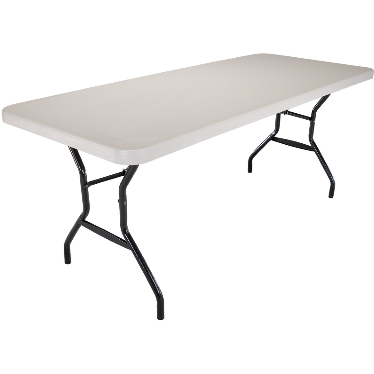 6' WHITE FOLDING TABLE - 2924 by Lifetime  Xiamen