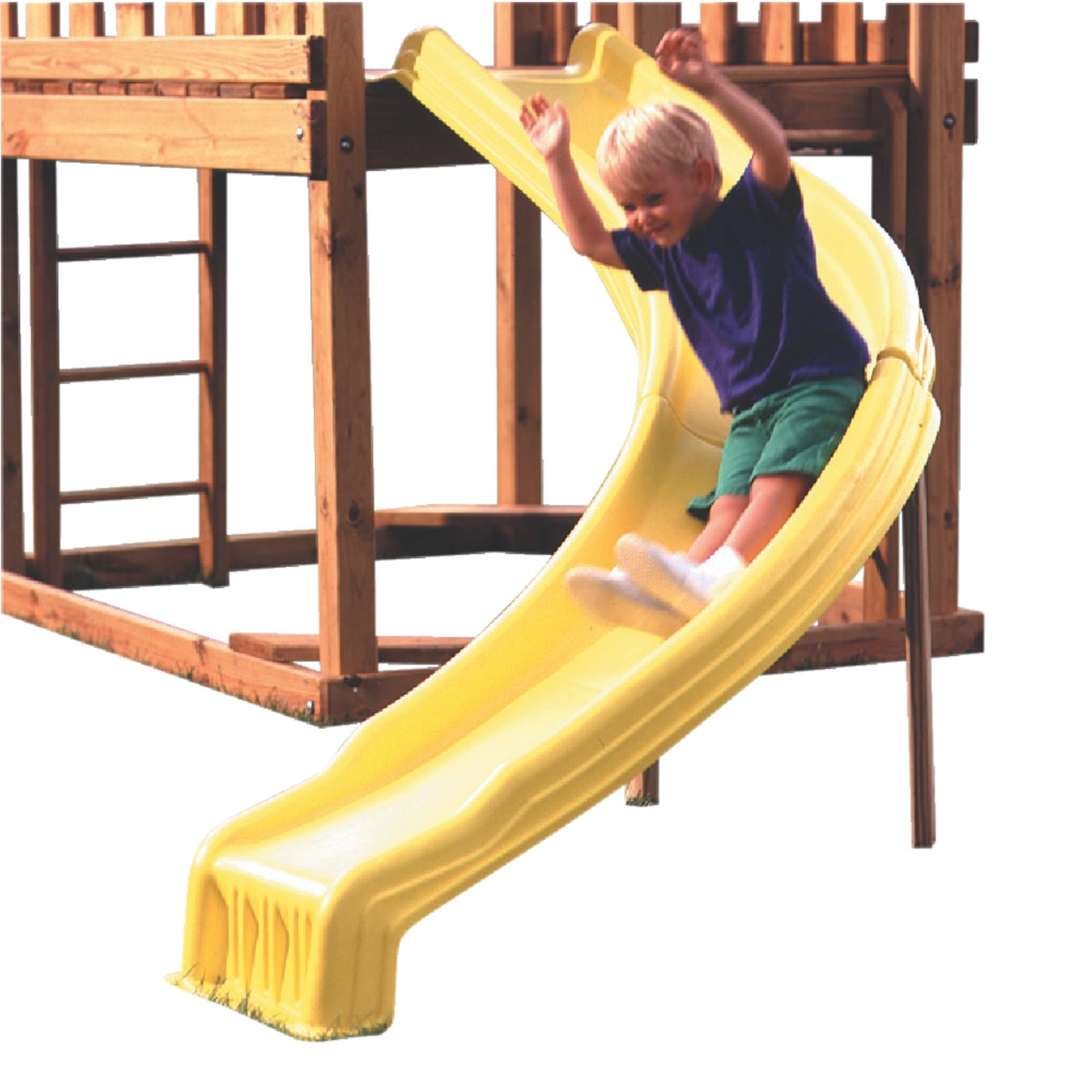 YELLOW SIDE WINDER SLIDE - NE4678-1YB by Swing N Slide Corp