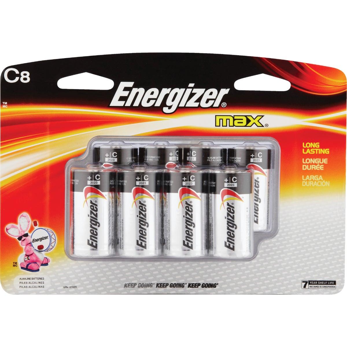 8PK C ALKALINE - E93BP-8H by Energizer