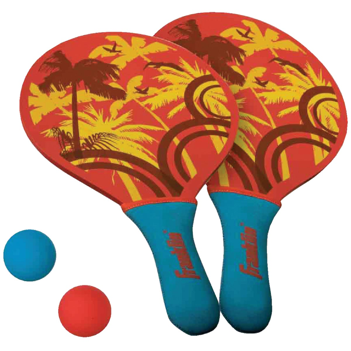 GRIP RT PADDLEBALL SET - 52604 by Franklin Sports