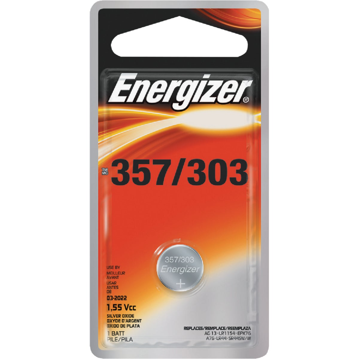 1.5V WATCH/ELEC BATTERY - 357BPZ-3 by Energizer