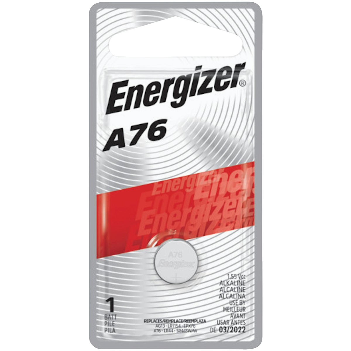 1.5V WATCH/ELEC BATTERY - A76BPZ by Energizer