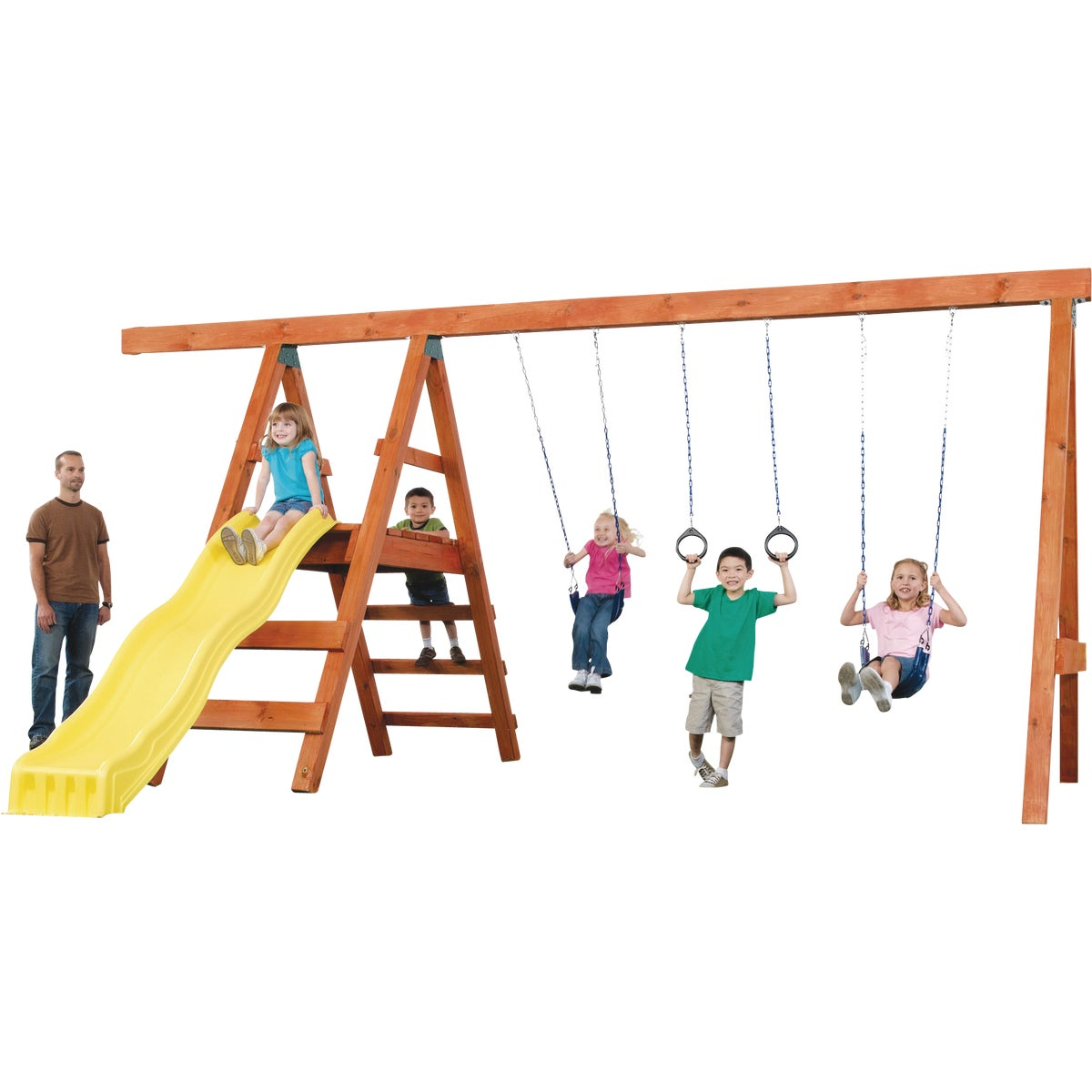 Swing N Slide PIONEER SWING SET KIT NE4433