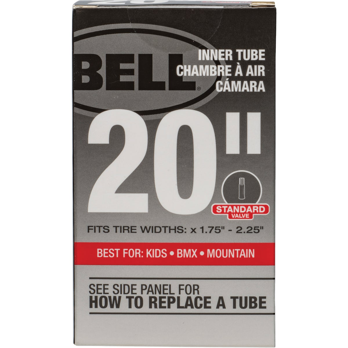 """20"""" UNIVERSAL INNER TUBE - 7015357 by Bell Sports"""