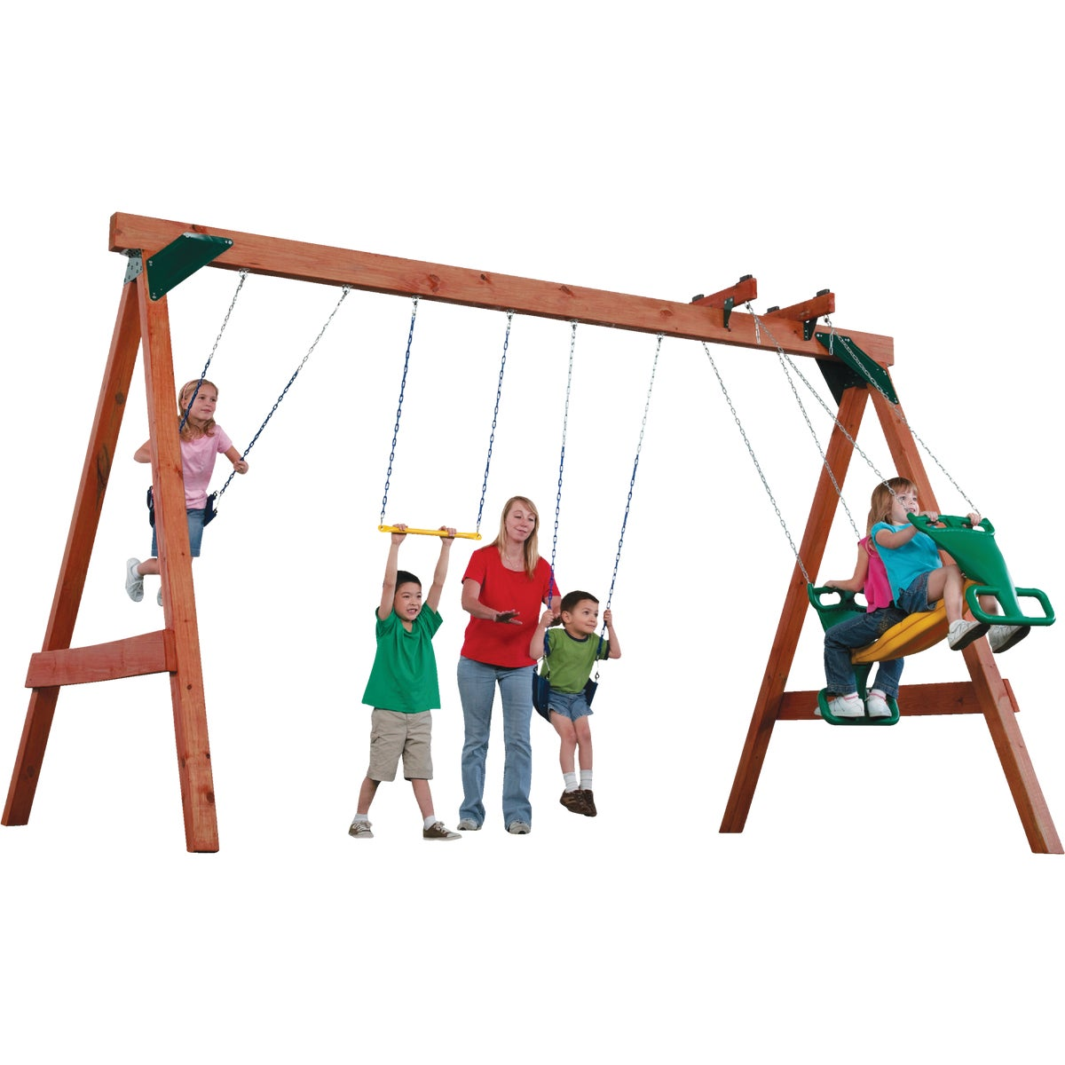 Swing N Slide SCOUT SWING SET KIT NE4422