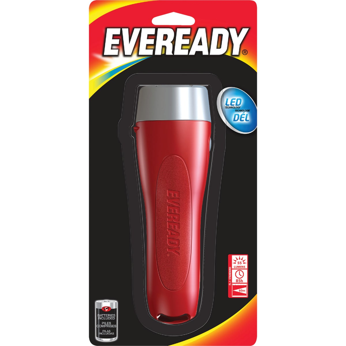 2D 3LED FLASHLIGHT - EVVL25S by Energizer