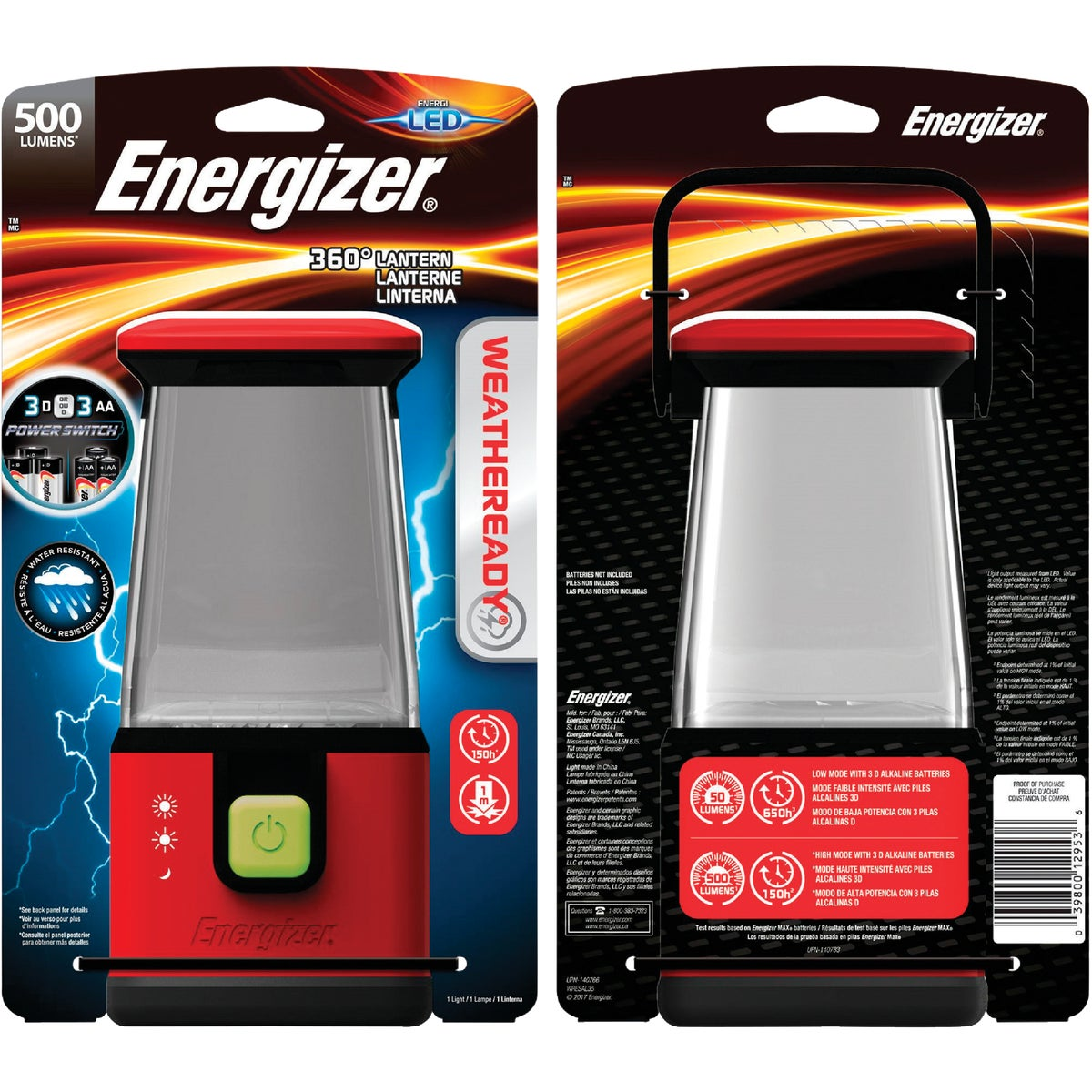 500HR LED AREA LIGHT - WRLMF35E by Energizer
