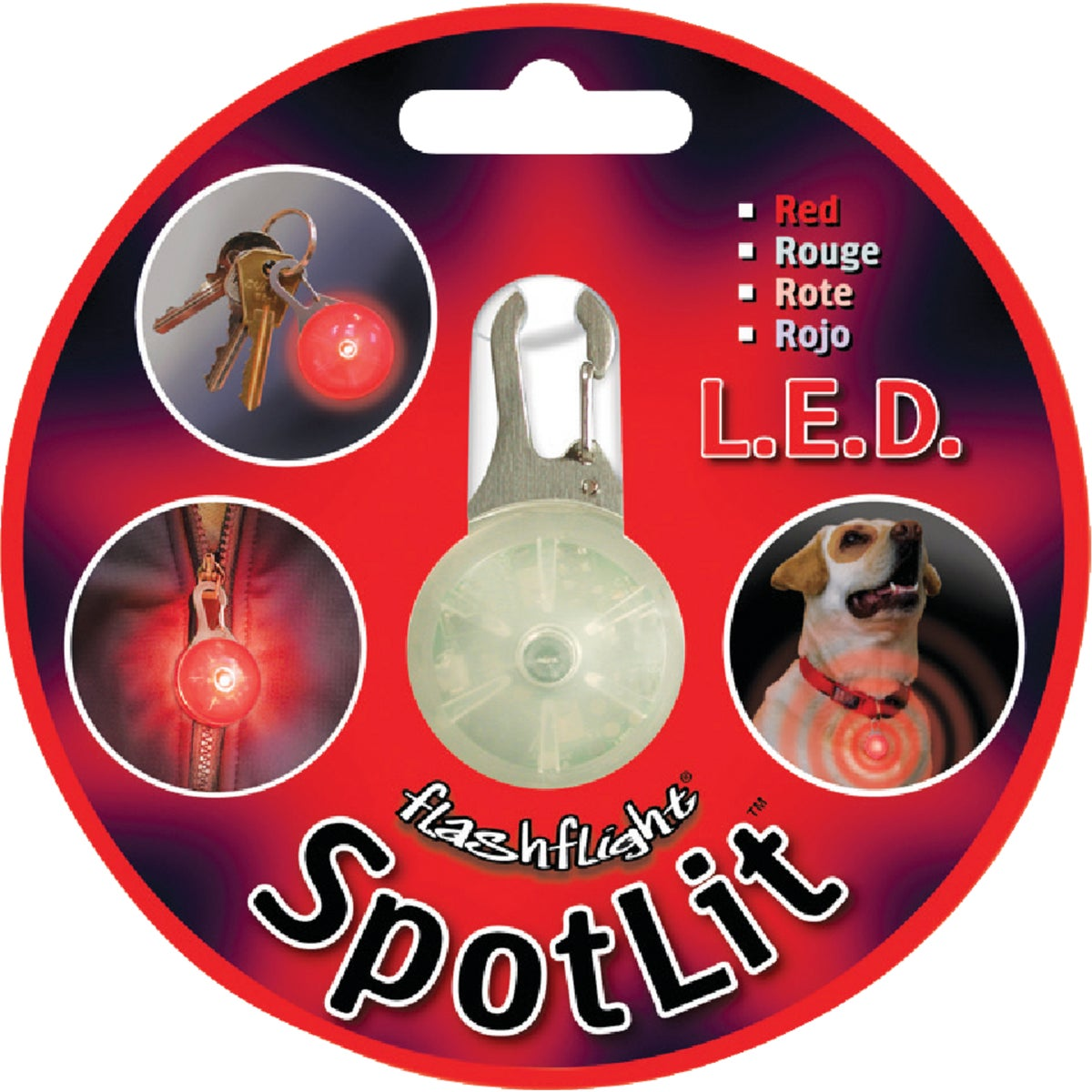 RED SPOTLIT - SLG-03-10 by Nite Ize   Rcp