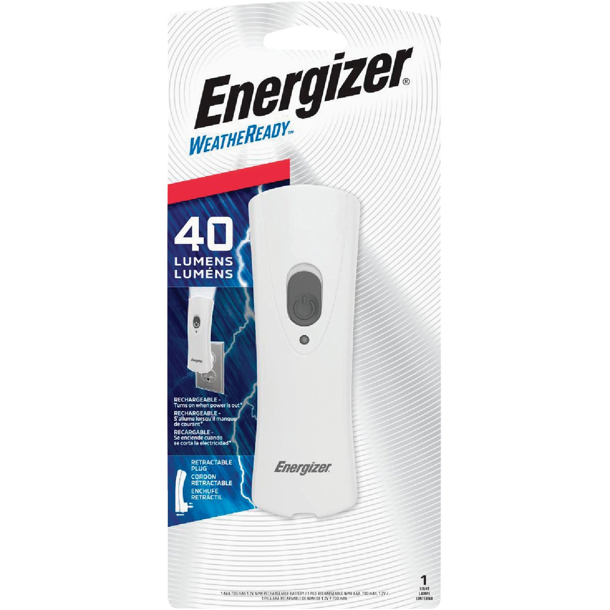 WTHR READY RECHARGEABLE - RCL1NM2WR by Energizer