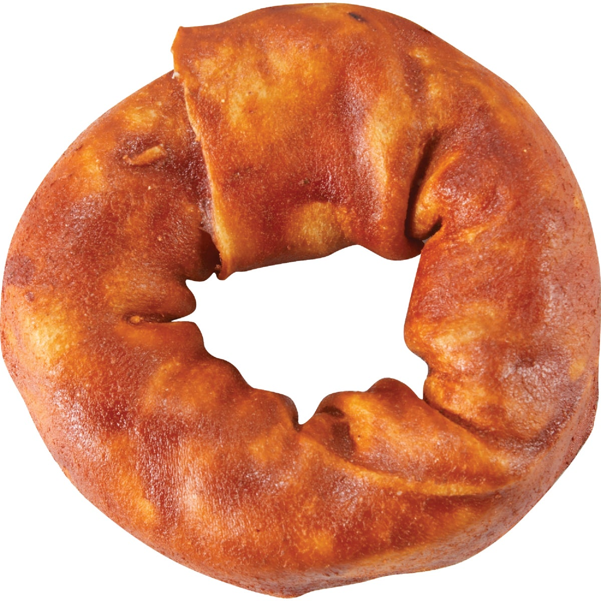 """4"""" BEEF RAWHIDE DONUT - 00502 by Savory Prime"""