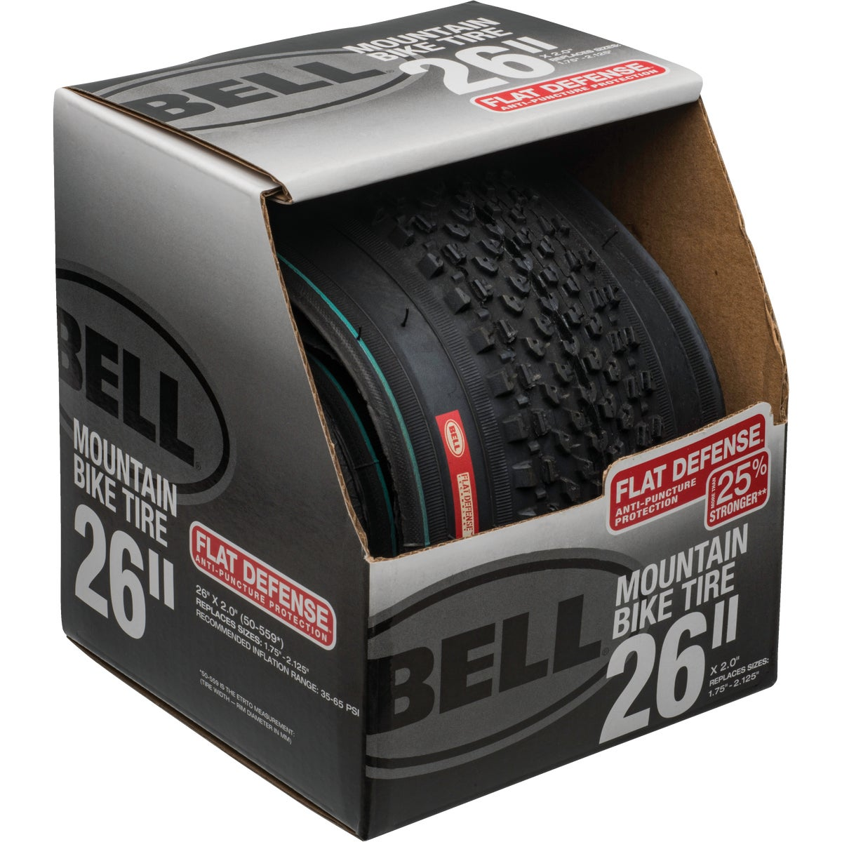 "26"" MOUNTAIN BIKE TIRE - 7014785 by Bell Sports"