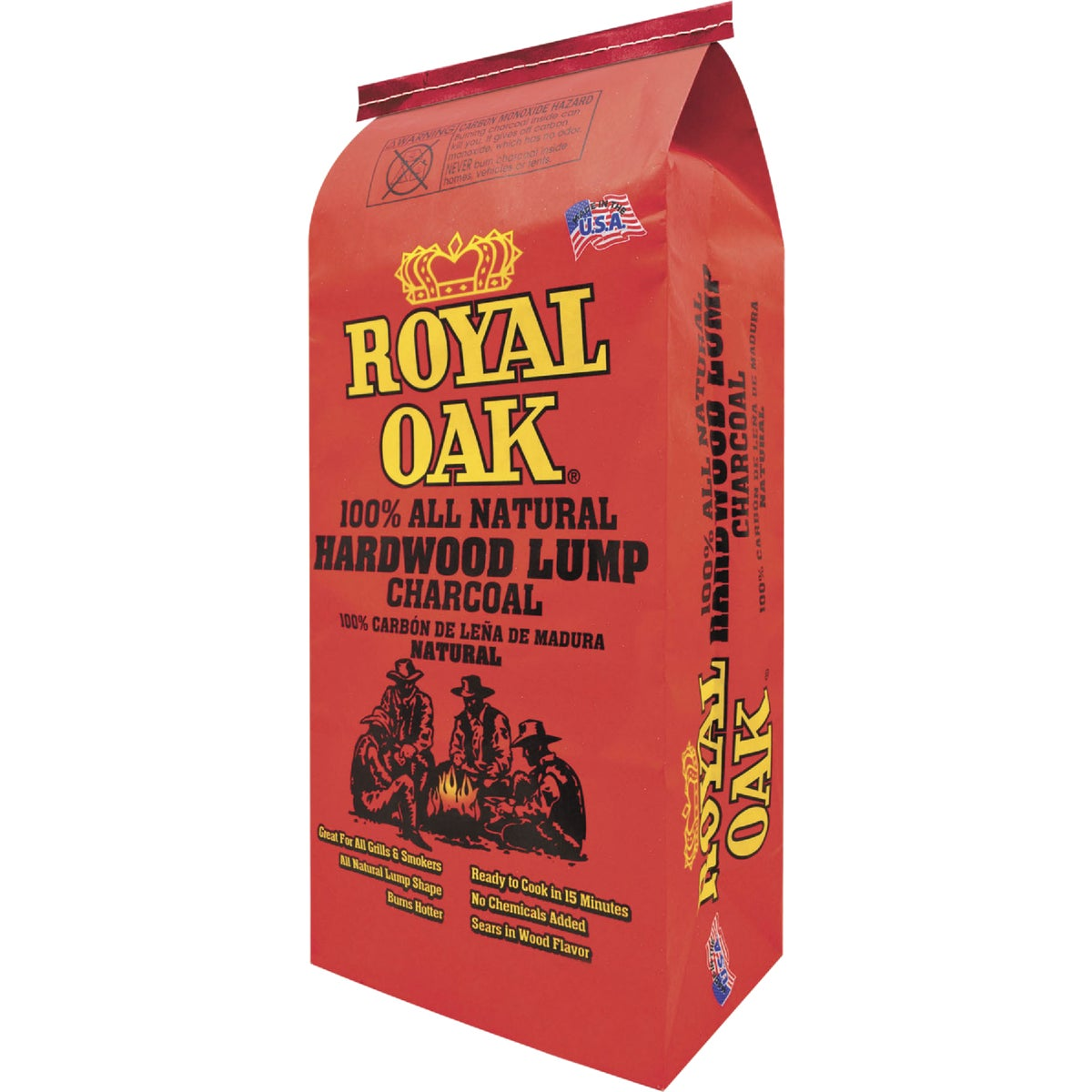 17.6# NAT LUMP CHARCOAL - 195-228-017 by Royal Oak