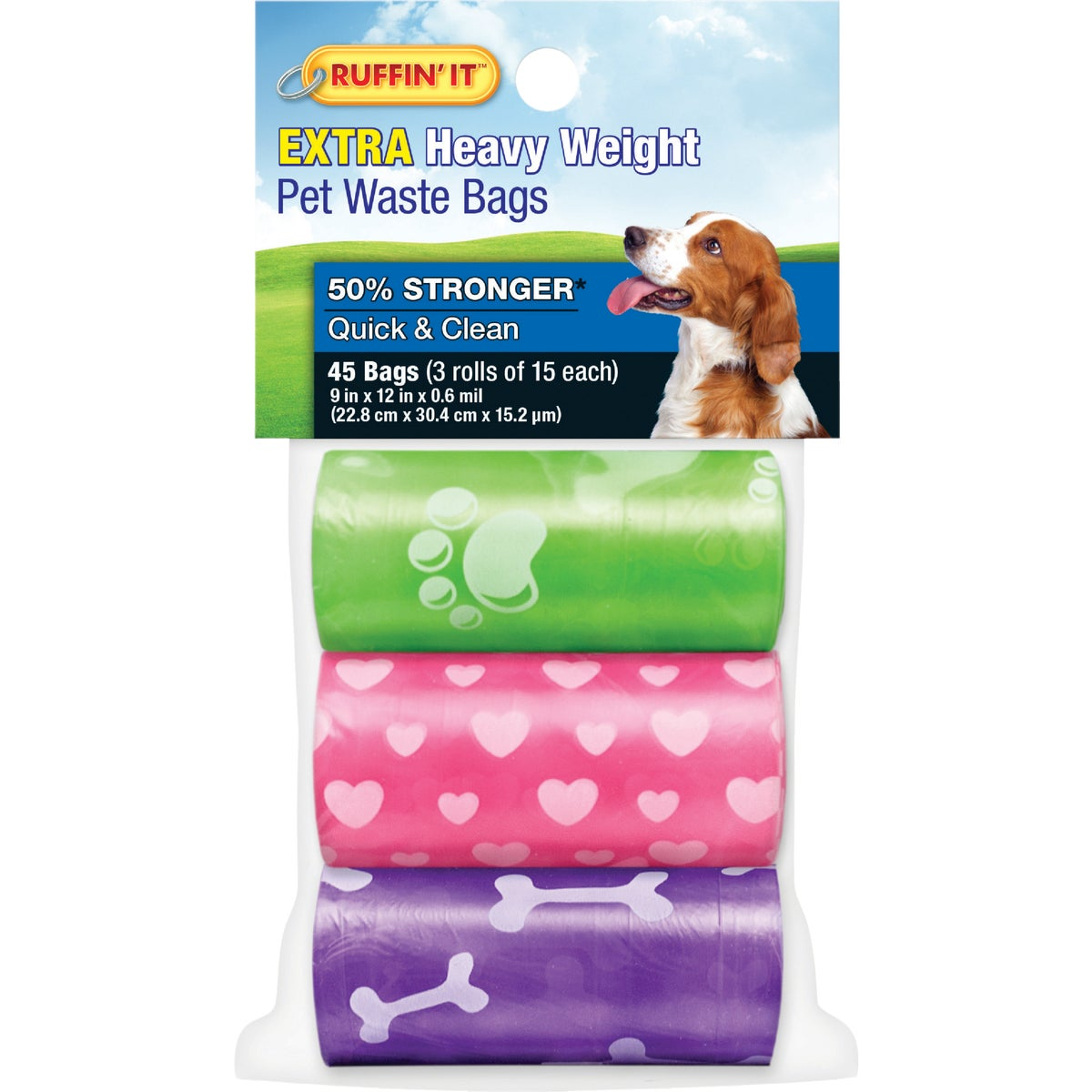 3 DISPOSAL REFILL ROLLS - 262 by United Pet Group