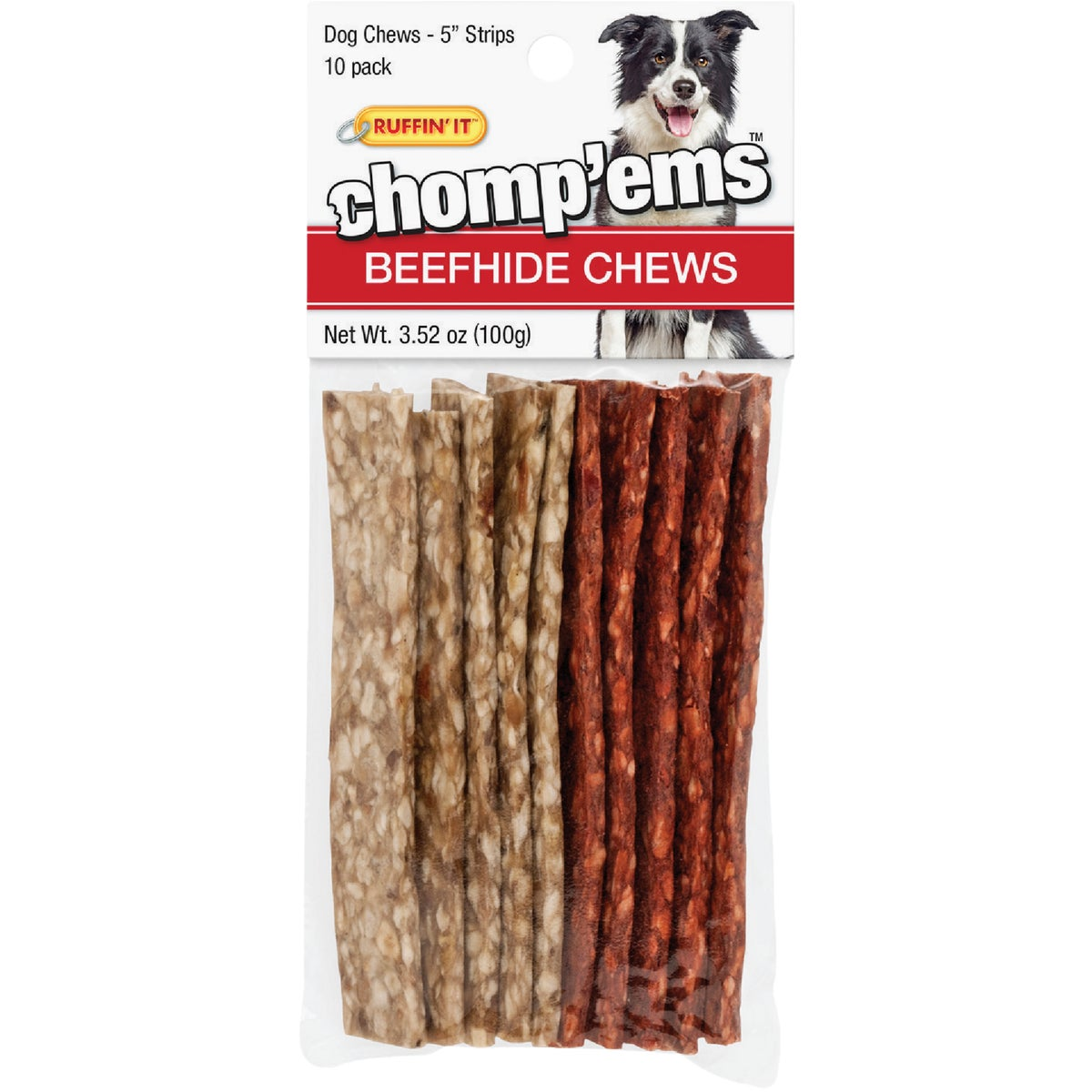 12PK STRIPS CHEW TOY