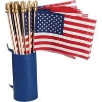 Valley Forge 48PK 4X6 DISP CUP FLAG USE4D