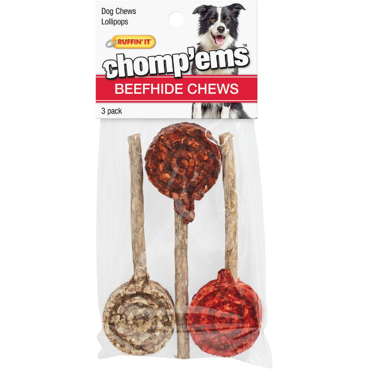3PK LOLLIPOPS CHEW TOY - 03176 by Westminster Pet